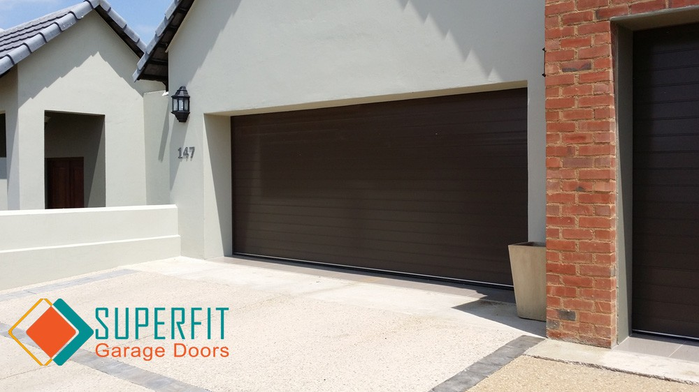 Garage Doors Aluminium Aluzinc Roll Up Wood Installed And Automated