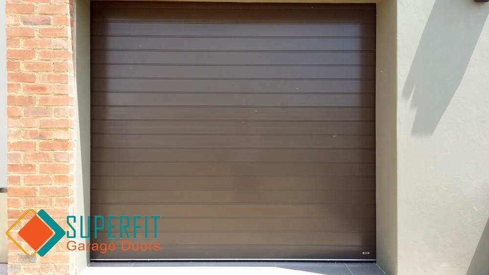 Garage Doors Aluminium Aluzinc Roll Up Wood Installed And