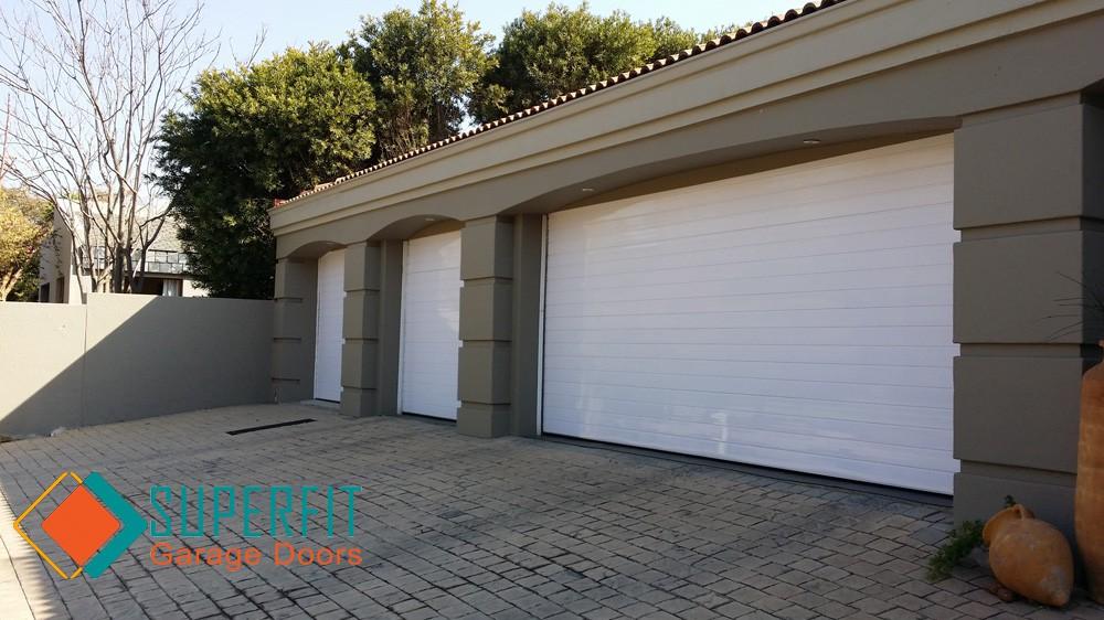 Garage Doors Aluminium Aluzinc Roll Up Wood Installed And Automated