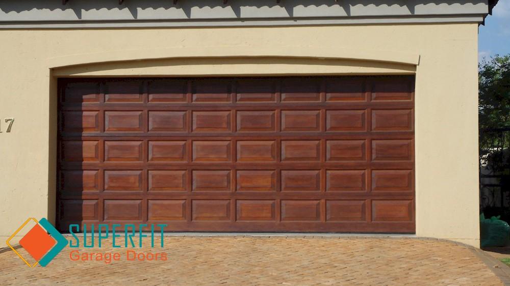 Garage Doors Aluminium Aluzinc Roll Up Wood Installed And